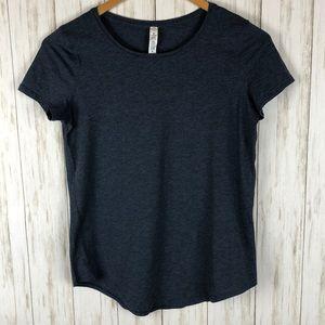 Lululemon Love Crew III T Shirt Heathered Blue XS